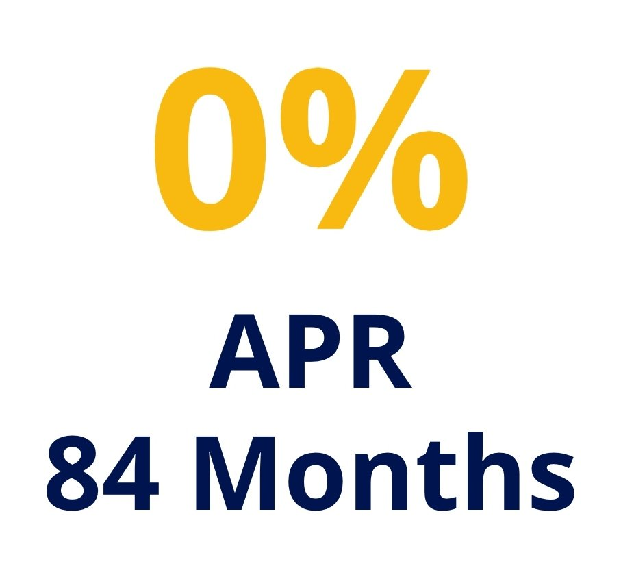 0 APR For 84 Months