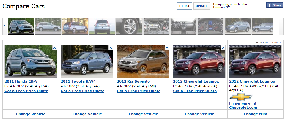 Bad Credit Car Dealers >> Where's the best place to compare cars? A review of Edmunds