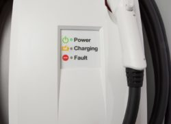 Home electric car changing station