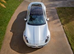 Fisker solar powered car