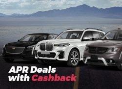 APR Deals with Cash Back