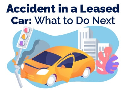 Accident in Leased Car