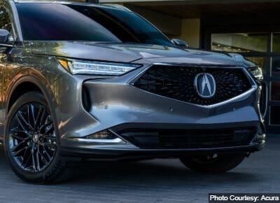 Acura MDX Crossover Segment