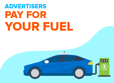 Advertisers Pay for Fuel