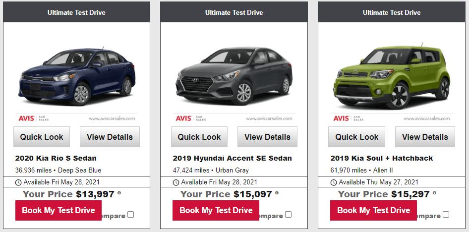 Avis Buying