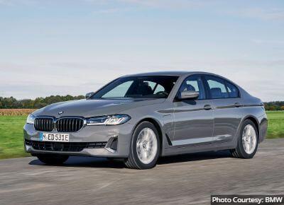 BMW 5 Series AWD Sedan