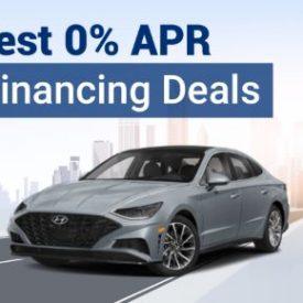 Best 0% APR Financing Deals For October 2021
