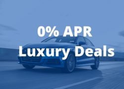 Best 0 apr Luxury Car Deals