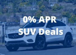 Best 0 apr SUV deals