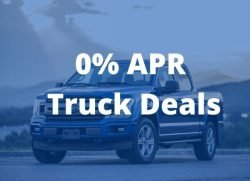 Best 0 apr truck deals