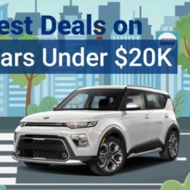 Best Deals on New Cars Under $20,000 for October 2021