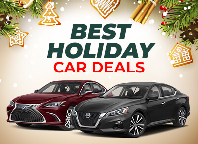 Best holiday car deals by manufacturer