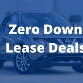 Best lease deals with zero down
