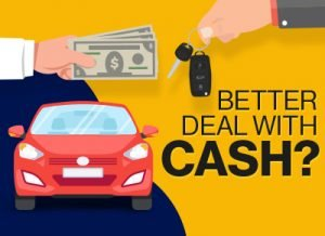 Better deal on car if you pay cash