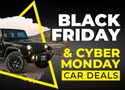 Black Friday and Cyber Monday Car Deals