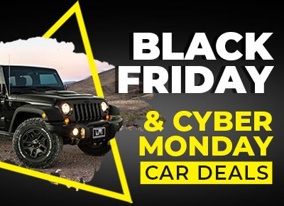 Black Friday Cyber Monday Car Deals 2020 Edition