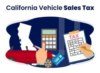 California Vehicle Sales Tax