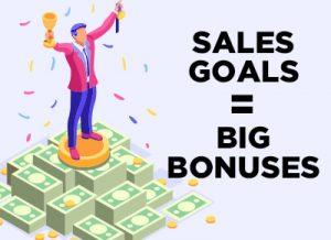 Car Sales Goals Equal Big Bonuses