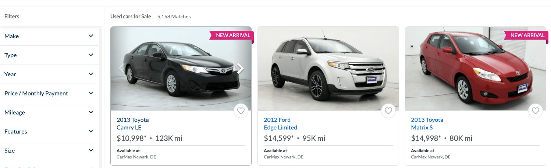 CarMax Buying