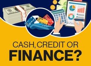 Cash credit or finance