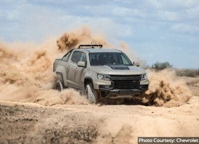 Chevrolet Colorado Off-Road Trucks
