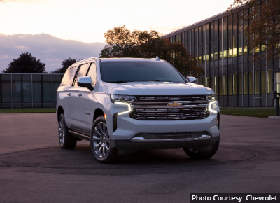 Chevrolet Suburban Best SUV By Size