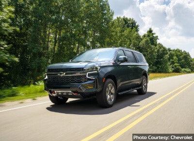 Chevrolet Suburban Most Reliable Full Size SUV