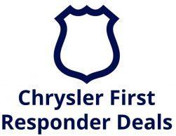 Chrysler First Responder Deals