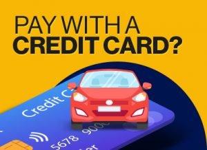 Credit card to buy car