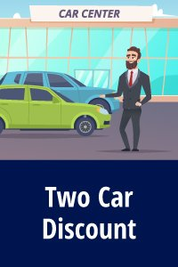 Discount buying two cars