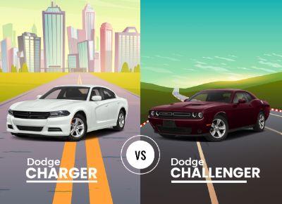 Dodge Charger vs Dodge Challenger
