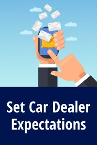 Email Negotiation Template 1 - Set Car Dealer Expectations
