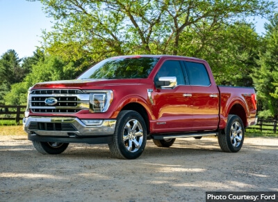 Ford F150 Best Trucks by Size