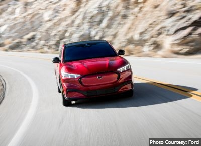 Ford Mustang MachE EV Crossover