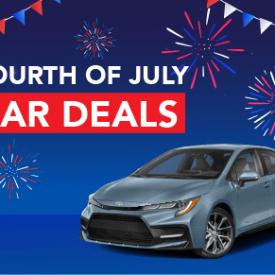 Fourth of July Car Deals [2021 Edition]