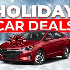 Year End Holiday Car Deals [2020 Edition]