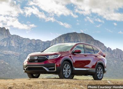 Honda CR-V Hybrid Best AWD Hybrid SUV