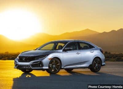 Honda Civic Hatchback Best Family Sedan