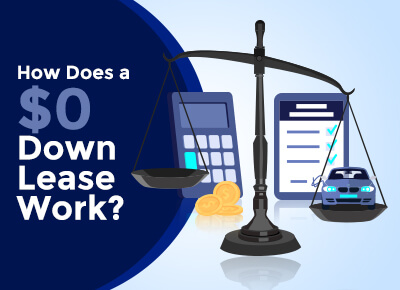 How does a zero down lease work