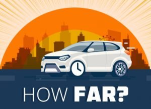 How far should I travel to purchase a car
