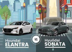 Hyundai Elantra vs Hyundai Sonata