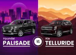 Hyundai Palisade vs Kia Telluride