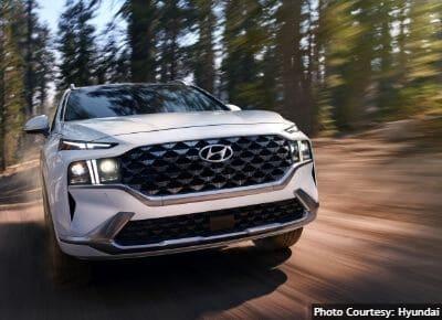 Hyundai Santa Fe Safety