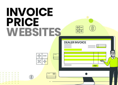 Invoice price websites