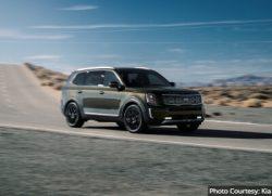 Kia Telluride Most Reliable SUVs