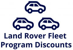 Land Rover Fleet Discounts