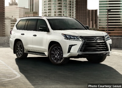 Lexus LX Most Reliable Full Size SUV