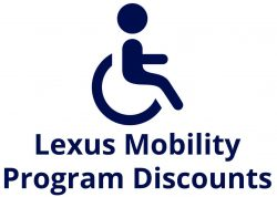 Lexus Mobility Discounts