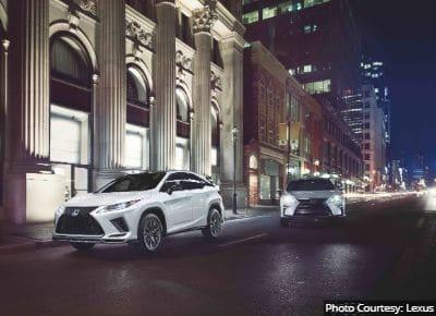 Lexus RX 450h Mileage