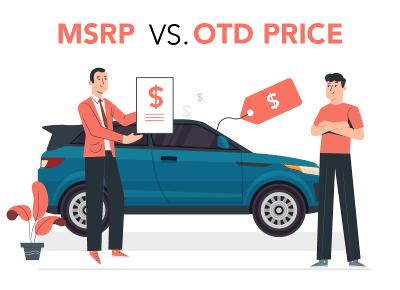 MSRP vs OTD Price